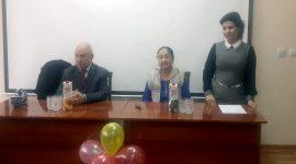 2016-yil 23-dekabrda pedagogika fanlari doktori, professor Safo Matchonovlar sulolasi bilan uchrashuv о'tkazildi.